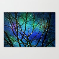 twilight Canvas Prints featuring twilight by Sylvia Cook Photography