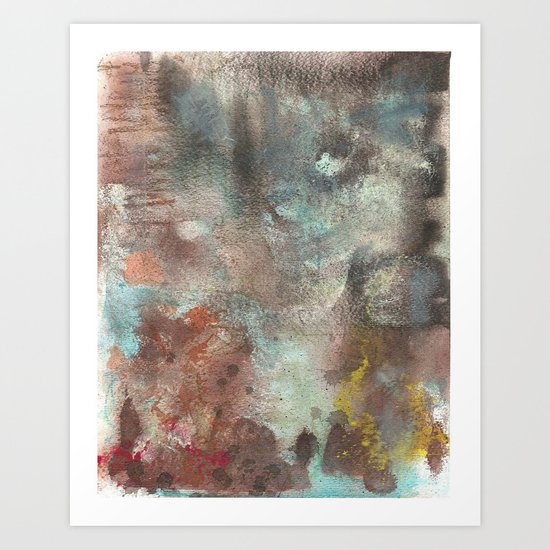 your abstract is wack-stract III Art Print
