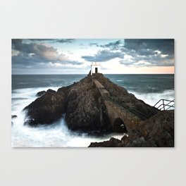 Jerbourg point Canvas Print