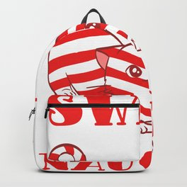 Sweet But Naughty Merry Christmas Happy New Year December 25 T-shirt Design Xmas Holidays Season Backpack