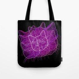 Fourth Dimensional Cat Tote Bag