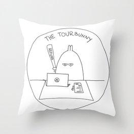 The TourBunny - Refund Throw Pillow