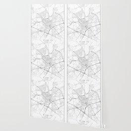 Minimal City Maps - Map Of Ghent, Belgium. Wallpaper