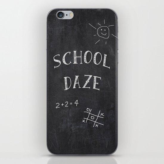 School Daze iPhone & iPod Skin