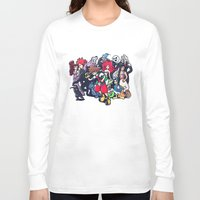 kingdom hearts Long Sleeve T-shirts featuring Kingdom Hearts by Jaimie Hutton