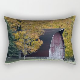 Autumn Barn Rectangular Pillow
