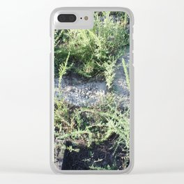 On the boardwalk Clear iPhone Case