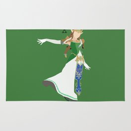 Princess Zelda(Smash)Green Rug