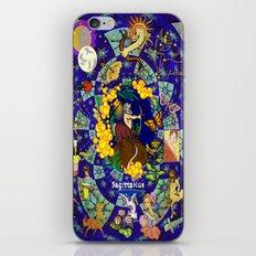 Star Quilt Sagittarius iPhone & iPod Skin