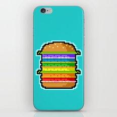 Pixel Hamburger iPhone & iPod Skin