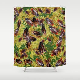 Cockroaches Shower Curtain