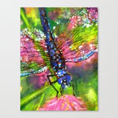 Title: painting - Dragonfly Canvas Print