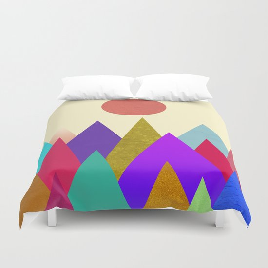 Abstract #441 Duvet Cover
