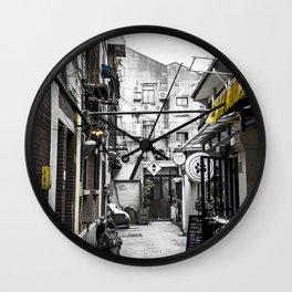 Tian Zi Fang colors Wall Clock
