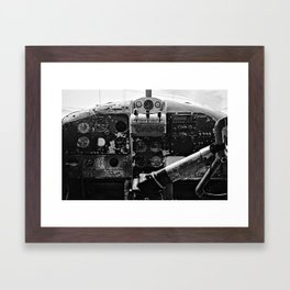 Beaver Cockpit Framed Art Print