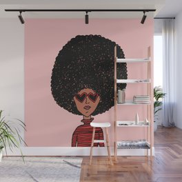 Fro Love Wall Mural