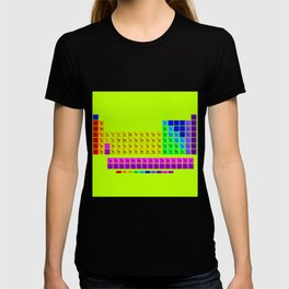 Periodic table of element T-shirt