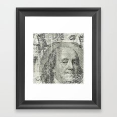 DOLLAR$ and SENSE Framed Art Print