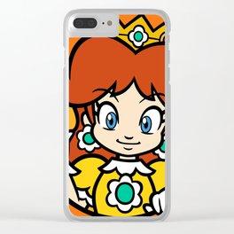 Princess of Sarasaland Clear iPhone Case