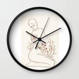 Soft Line Design 03 Wall Clock
