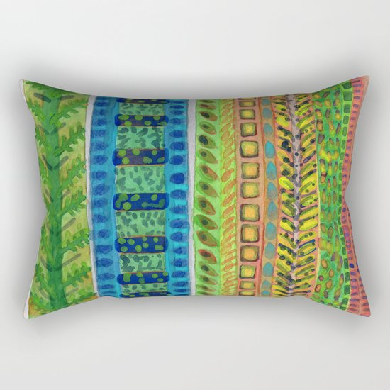 The Climb to the Treehouse Rectangular Pillow