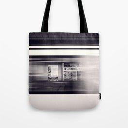 metro long exposure Tote Bag