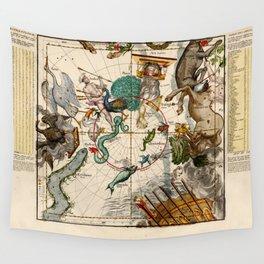 Globi coelestis Plate 6 Wall Tapestry