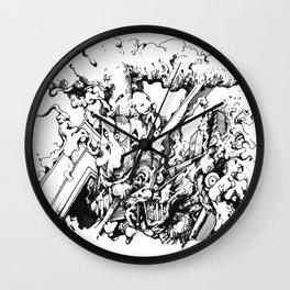 interpopfj;asod Wall Clock