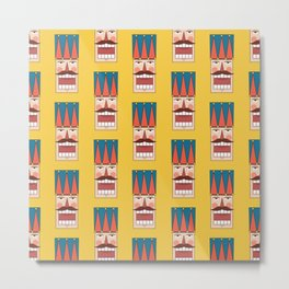 Nutcracker Army 01 (Patterns Please) Metal Print