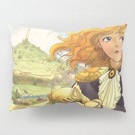 The Little Doll Girl: Cover Pillow Sham