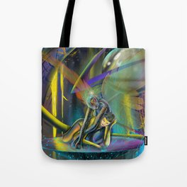 Avatars (Closeup) Tote Bag
