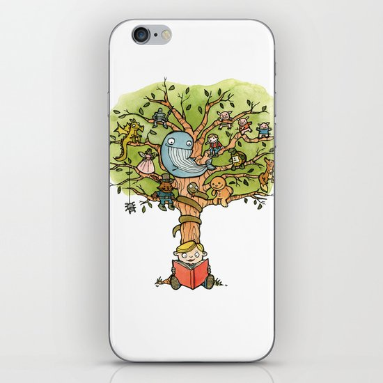 StoryTime Tree iPhone Skin