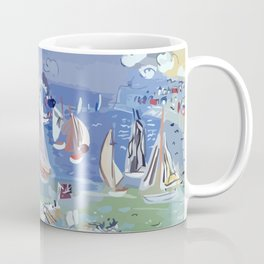 Regatta by Raoul Dufy Coffee Mug
