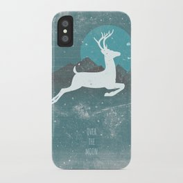 Over The Moon iPhone Case