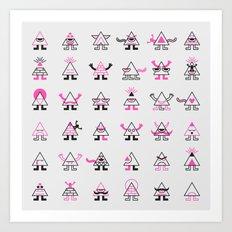 The Illuminati Art Print