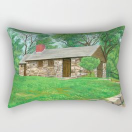 Babson Farmhouse, Rockport Mass Rectangular Pillow