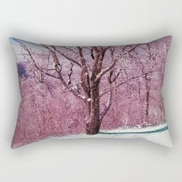 Winter Maple Rectangular Pillow
