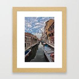 Old Venice Framed Art Print