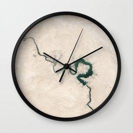 Trace nature Wall Clock
