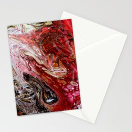 """Passion"" artwork by Inessa Laurel Stationery Cards"