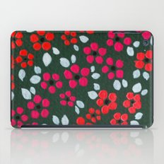 Pink Flowers iPad Case