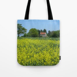 Golden Yellow Tote Bag