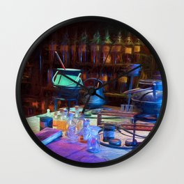Potions Class Wall Clock