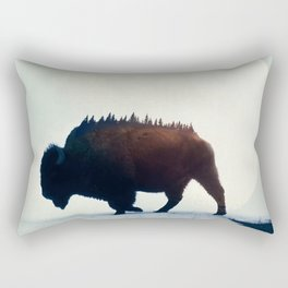 Wild West #society6 #decor #buyart Rectangular Pillow