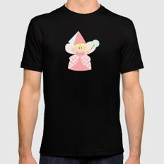 little fairy MEDIUM Black Mens Fitted Tee