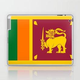 Flag of sri Lanka -ceylon,India, Asia,Sinhalese, Tamil,Pali,Buddhist,hindouist,Colombo,Moratuwa,tea Laptop & iPad Skin