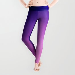 Pink and Purple Abstract Leggings