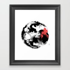 Ink Pepe Psyche Framed Art Print