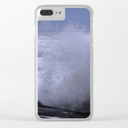 Majestic Waves! Clear iPhone Case