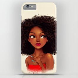 more curls iPhone Case
